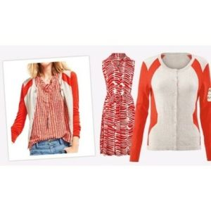 Cabi #192 Hourglass Cardigan Sweater Medium Cotton